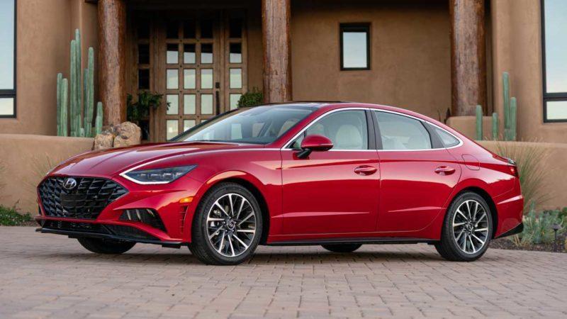 2020. Hyundai Sonata pregled: Izgled s lijevog polja, vrijednost kod kuće
