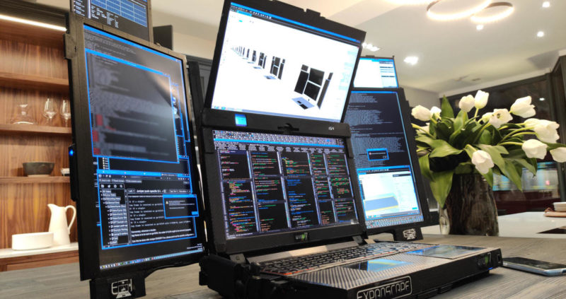 CES 2020 novosti o laptopu sa 7 displeja