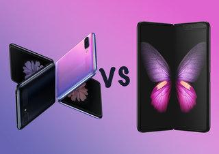 Galaxy Galaxy Flip telefon u odnosu na Galaxy Fold naočale: Usporedba Samsungovih dva sklopiva telefona