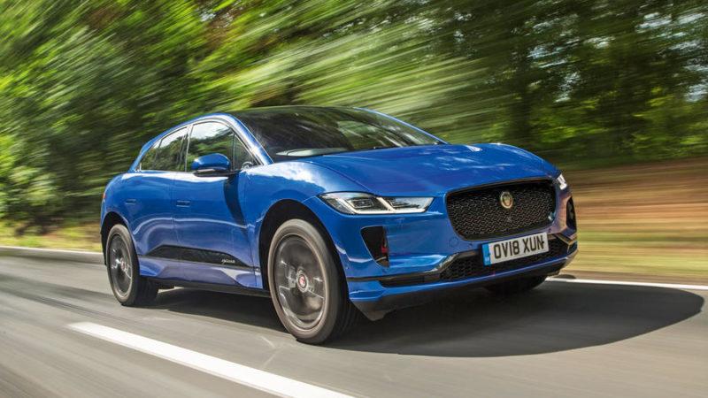 Jaguar I-Pace (električni terenac) u 2020 godini.
